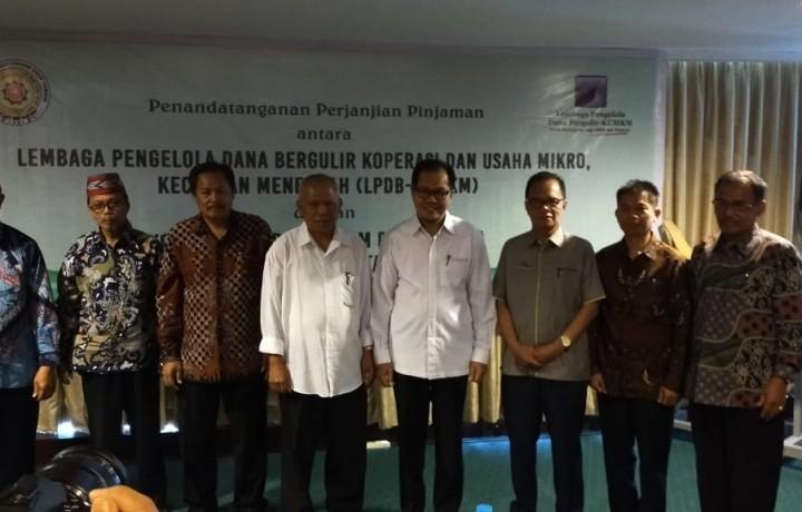 Penandatangan Perjanjian Antara KSP Balo'ta Dgn LPDB tgl 24919